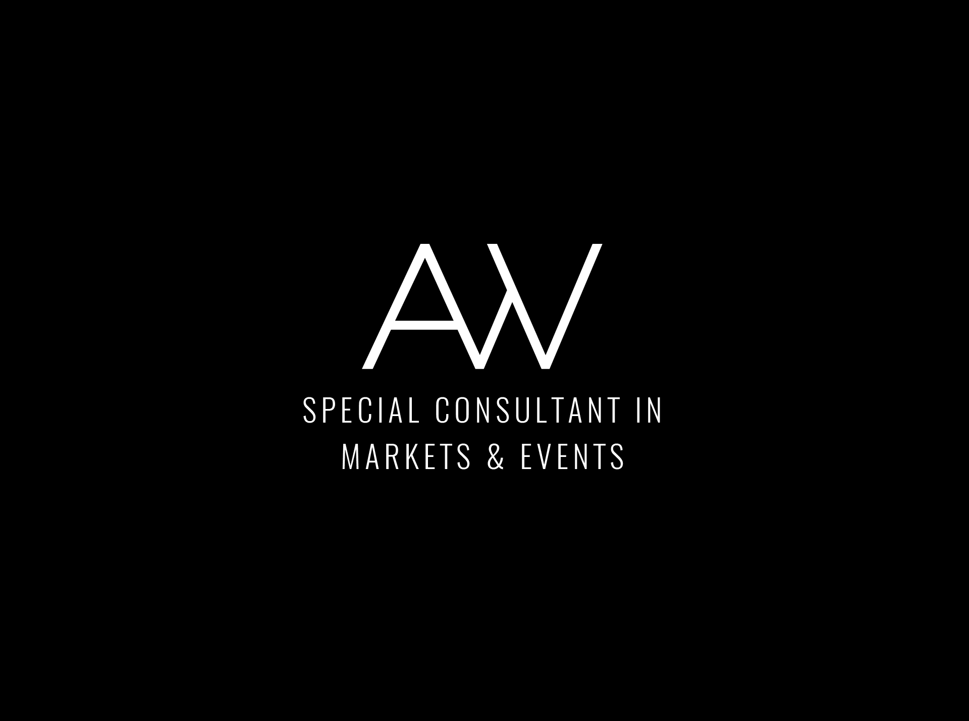 AW Special Consultant in Markets and Events